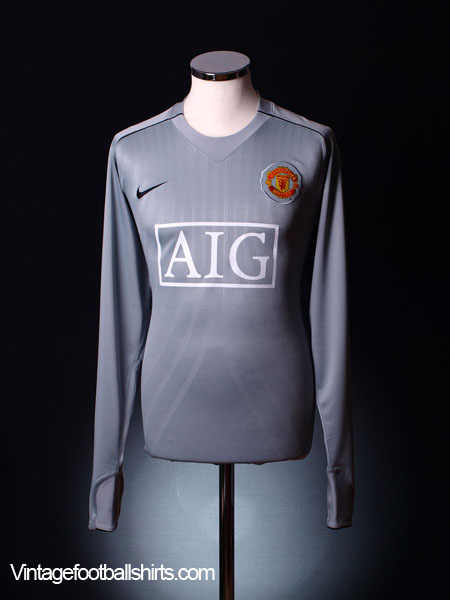2007-09 Manchester United Goalkeeper Player Issue Shirt *BNWT*
