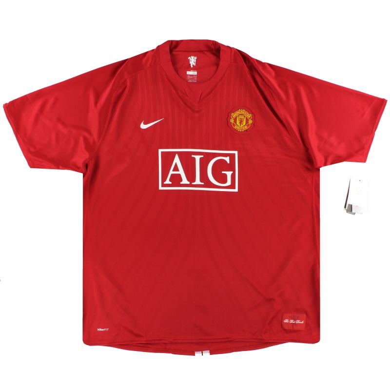 2007-09 Manchester United Nike Home Shirt *w/tags* XXXL - 237924-666