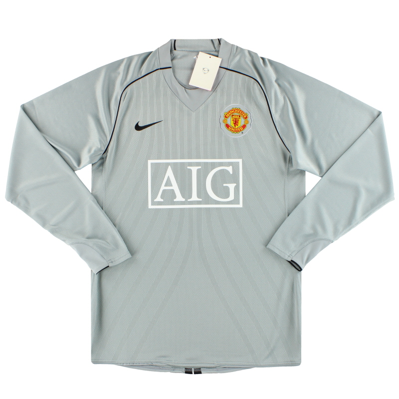 2007-09 Manchester United Nike Player Issue Goalkeeper Shirt *w/tags* L