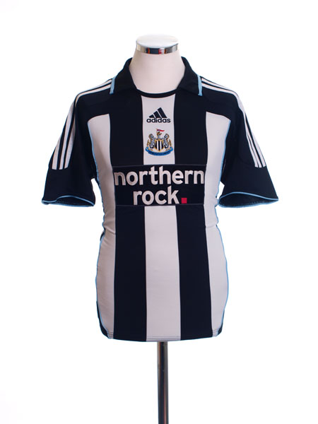 2007-09 Newcastle Home Shirt M - 695512