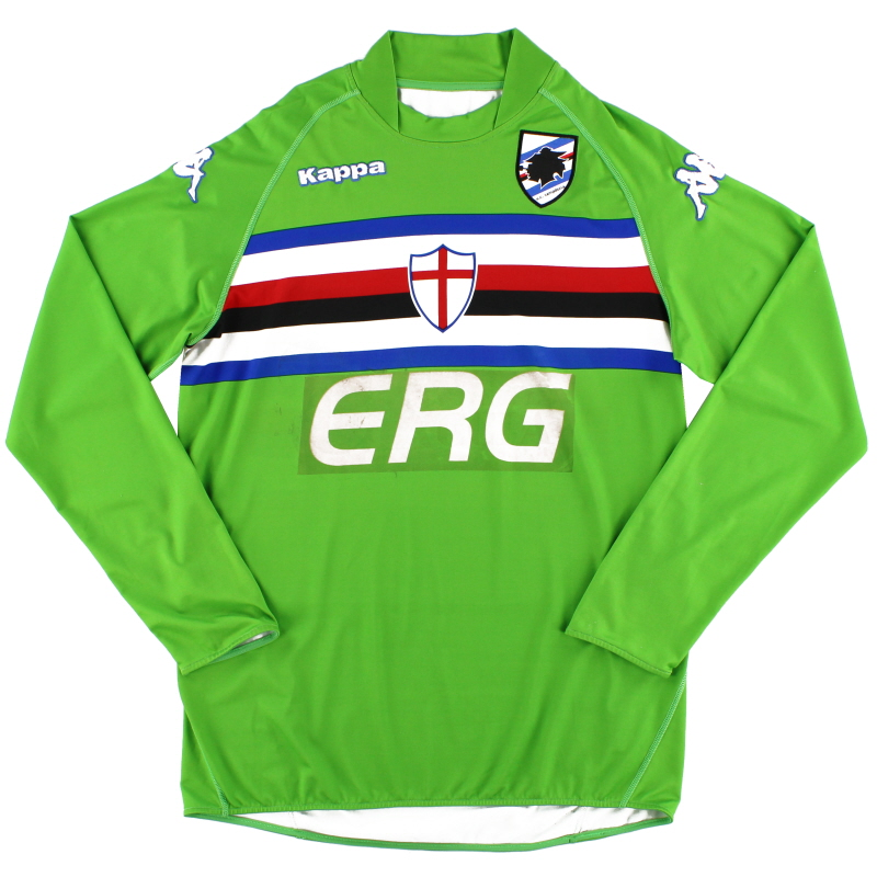2007-09 Sampdoria Goalkeeper Shirt XXL