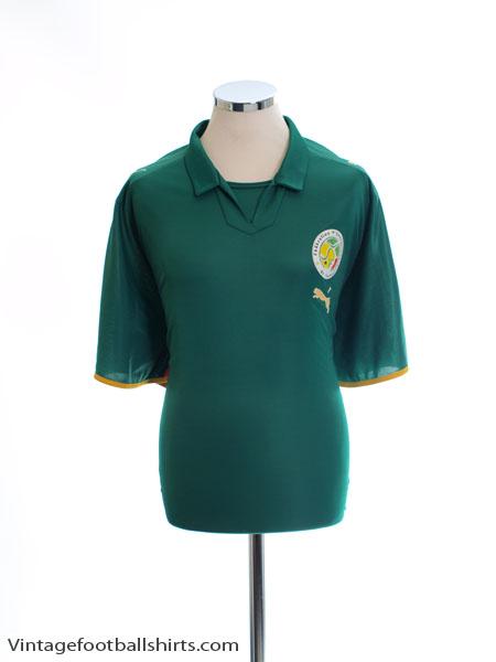 2007-09 Senegal Away Shirt XXXL - 734103