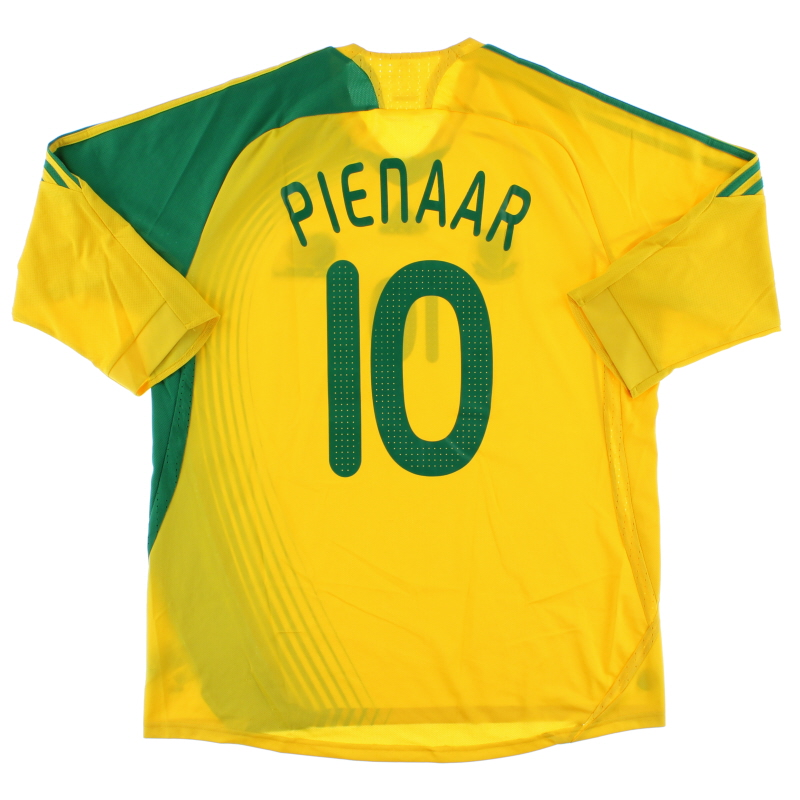 2007-09 South Africa Home Shirt Pienaar #10 *As new* XL