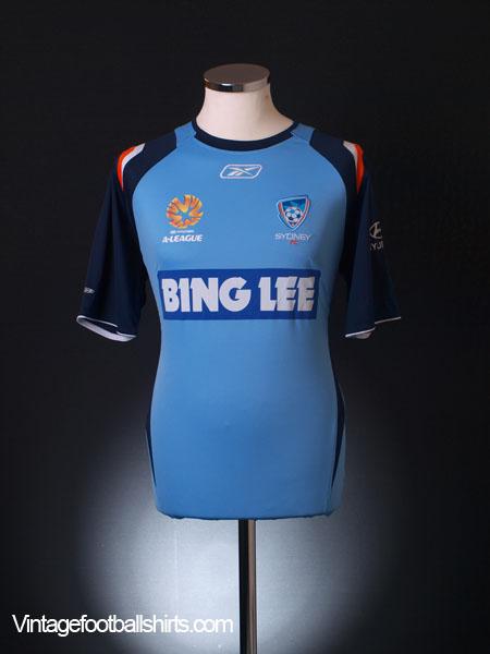 2007-09 Sydney F.C Home Shirt M
