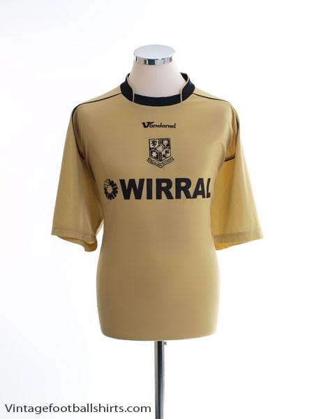 2007-09 Tranmere Rovers Third Shirt XL