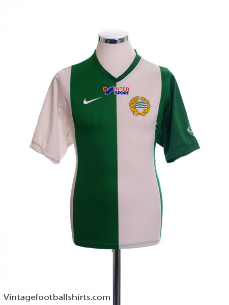 2007 Hammarby Home Shirt S