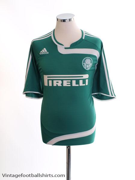 2007 Palmeiras Home Shirt L - 643350