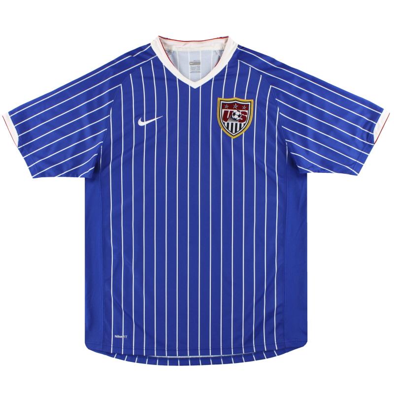 2007 USA Nike Copa America Shirt L - 217381-493