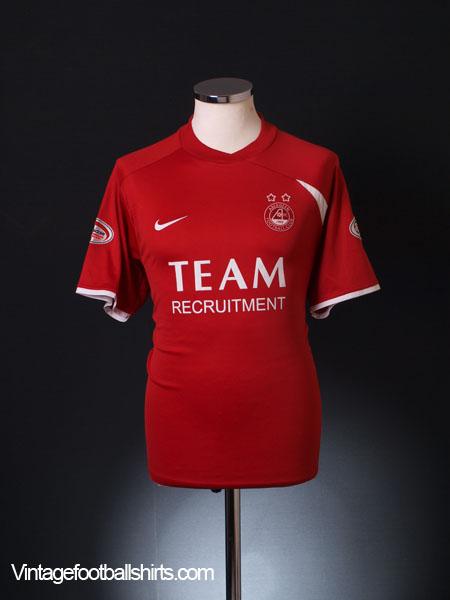 2008-09 Aberdeen Home Shirt M