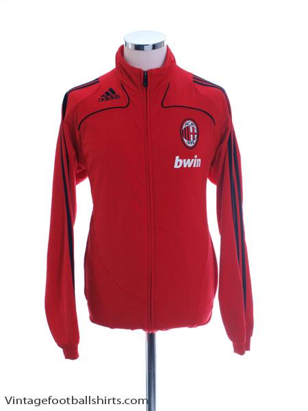2008-09 AC Milan adidas Training Jacket S - 074893