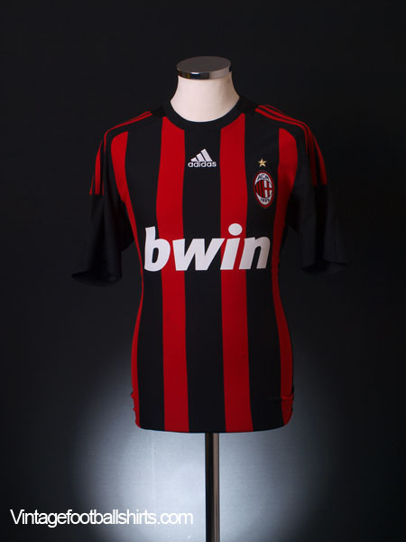 buy online dcb74 7029e 2008-09 AC Milan Home Shirt L for sale