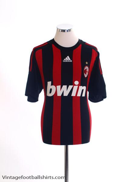 2008-09 AC Milan Home Shirt M