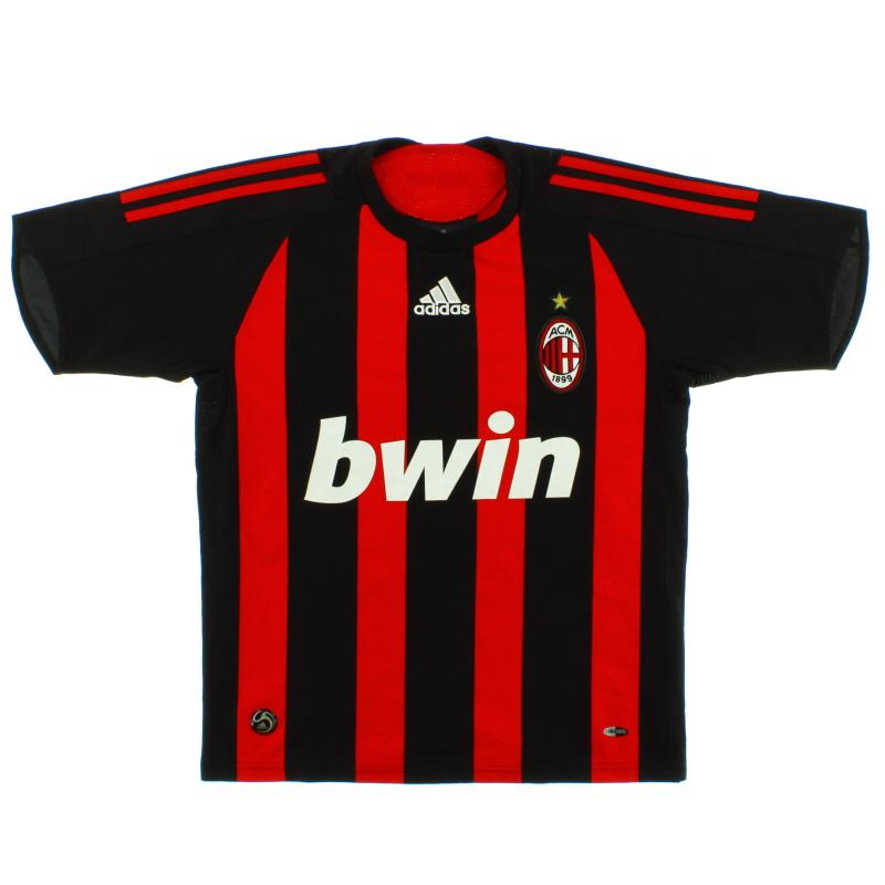 2008-09 AC Milan Home Shirt *Mint* XL - 025392