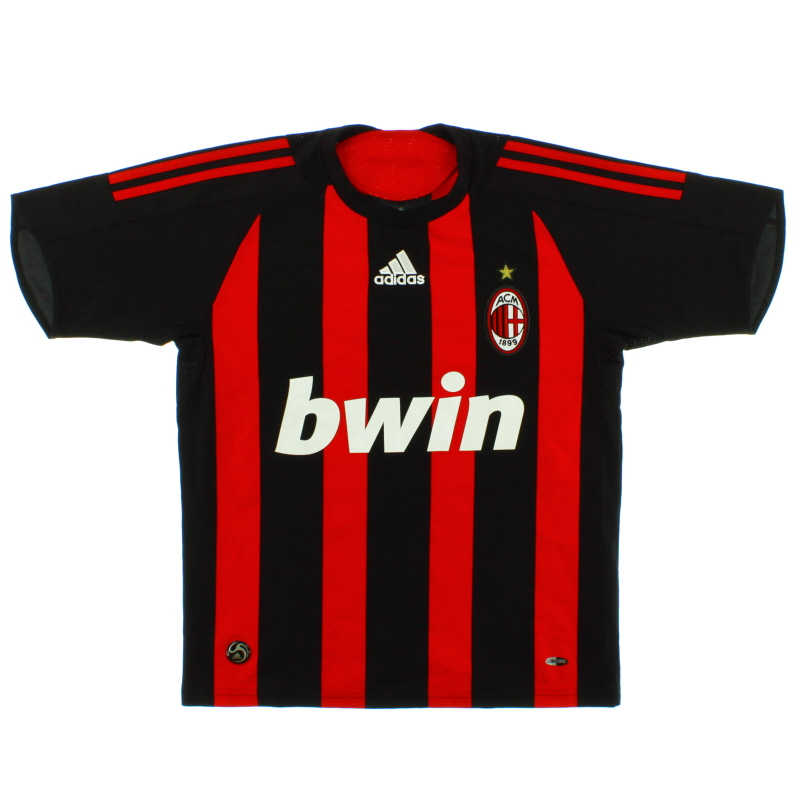 2008-09 AC Milan Home Shirt Y - E08155