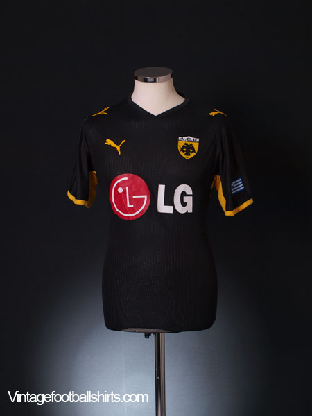 2008-09 AEK Athens Away Shirt S