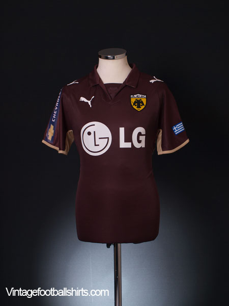 2008-09 AEK Athens Third Shirt S