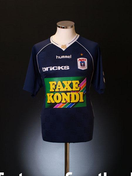 2008-09 AGF Aarhus Away Shirt XL