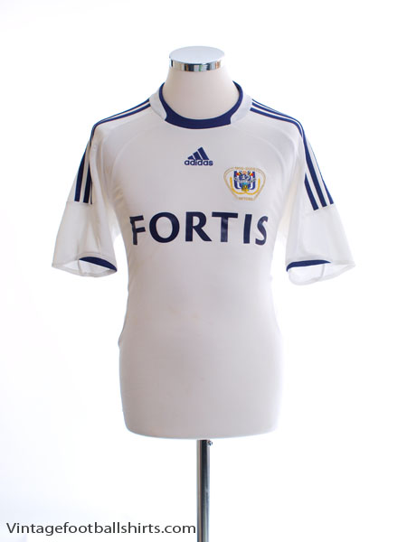 2008-09 Anderlecht Centenary Home Shirt S