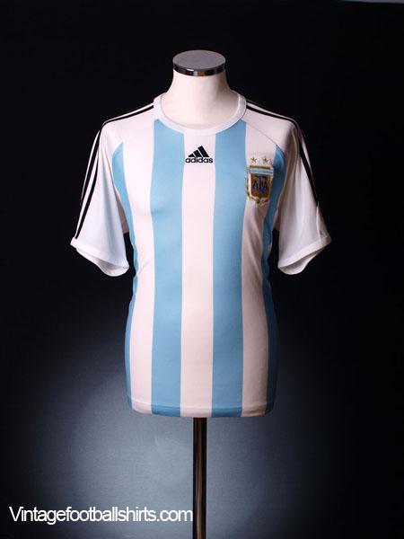 2008-09 Argentina Home Shirt L