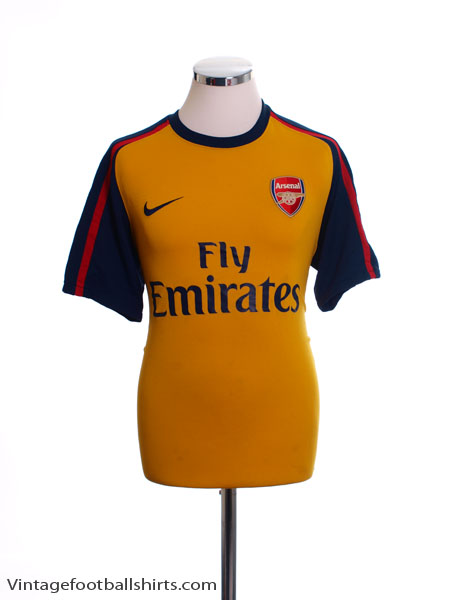 2008-09 Arsenal Away Shirt M