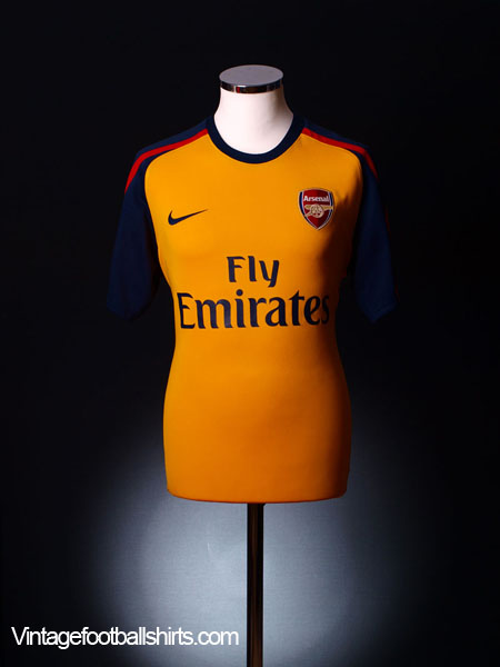 2008-09 Arsenal Away Shirt S