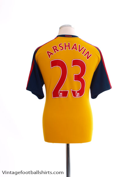 separation shoes e3097 25d34 2008-09 Arsenal Home Shirt Arshavin #23 M for sale