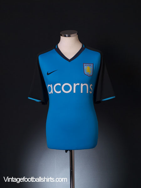 2008-09 Aston Villa Away Shirt L