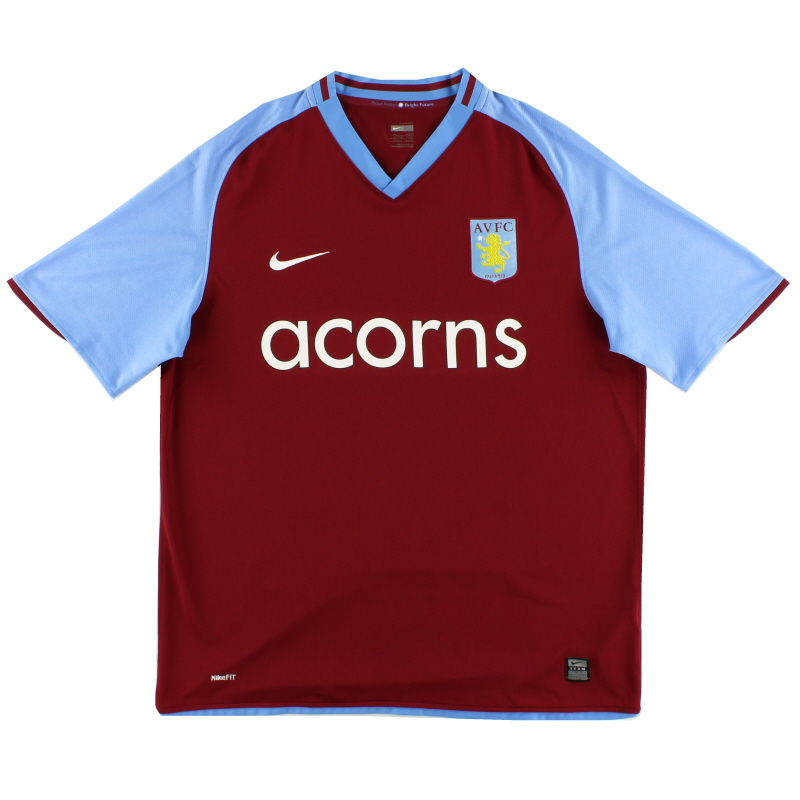 2008-09 Aston Villa Home Shirt XL