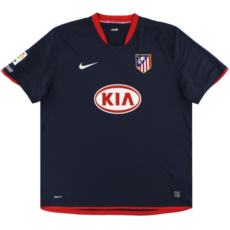 2008-09 Atletico Madrid Nike Away Shirt XXL - 287470-451