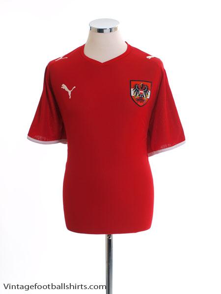 2008-09 Austria Home Shirt XXL