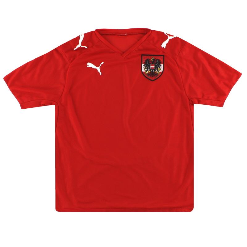 2008-09 Austria Puma Home Shirt L