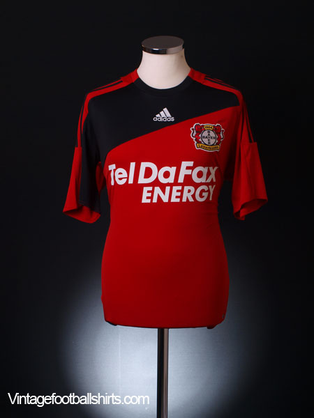 2008-09 Bayer Leverkusen Home Shirt M