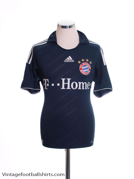 2008-09 Bayern Munich Away Shirt S