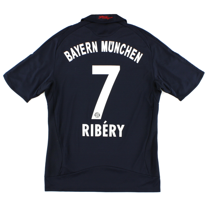 2008-09 Bayern Munich Away Shirt Ribery #7 S