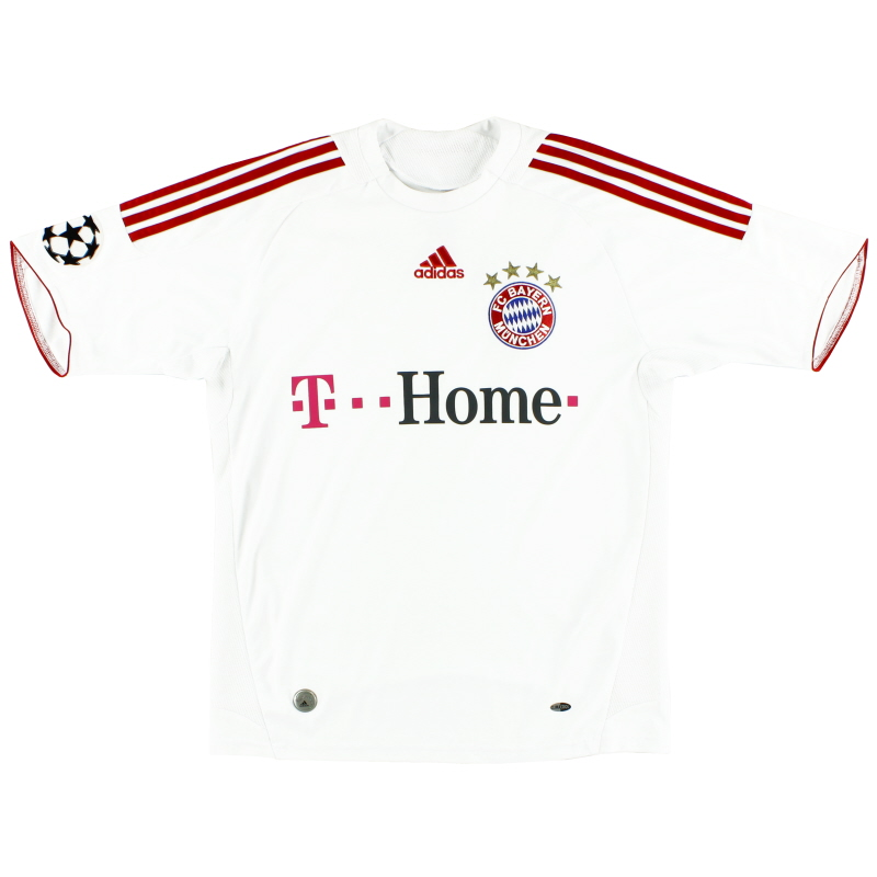 2008-09 Bayern Munich Champions League Third Shirt S