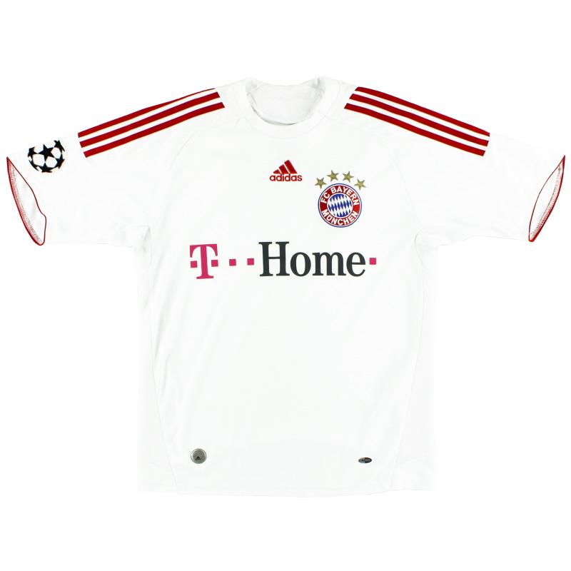 2008-09 Bayern Munich Champions League Third Shirt S