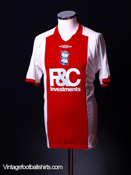 2008-09 Birmingham Away Shirt L