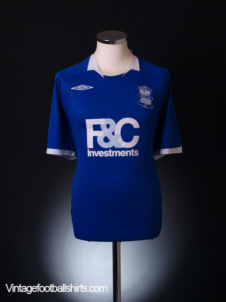 2008-09 Birmingham Home Shirt XL
