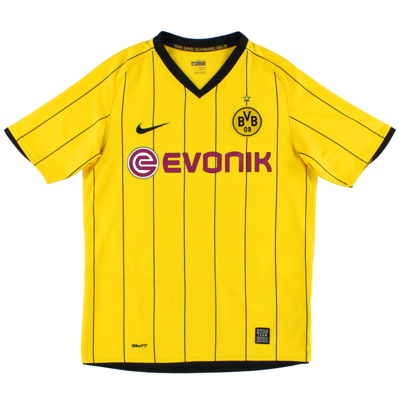 2008-09 Borussia Dortmund Home Shirt L.Boys
