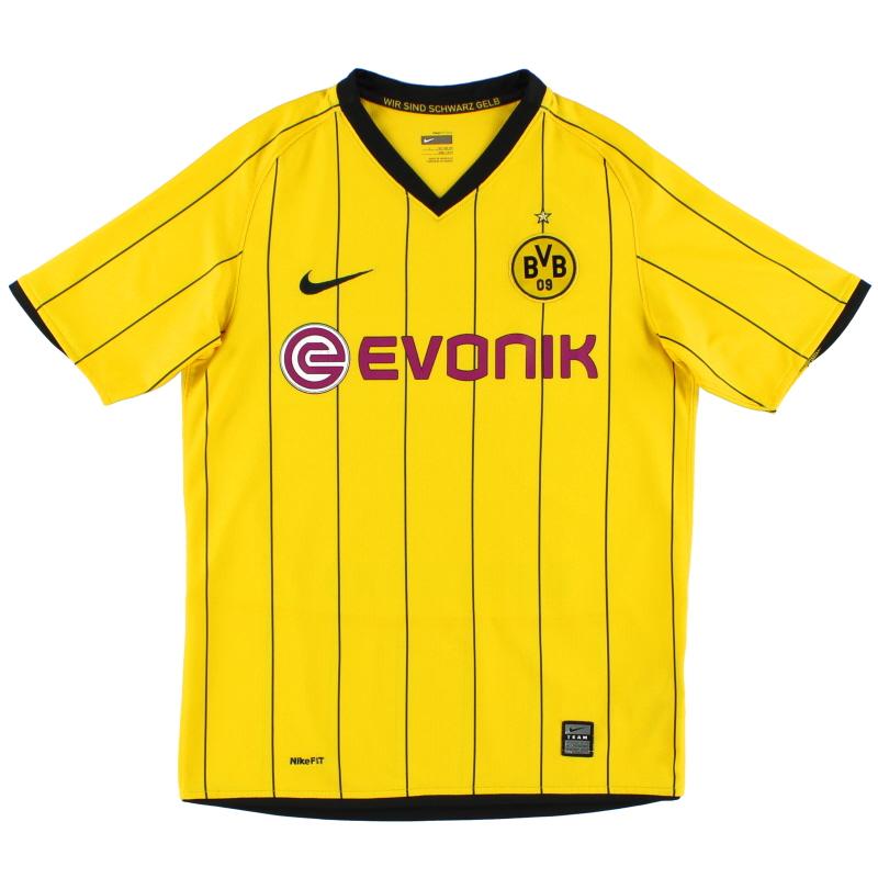 2008-09 Borussia Dortmund Nike Home Shirt XL