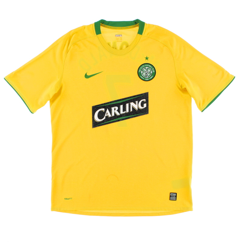 2008-09 Celtic Away Shirt S