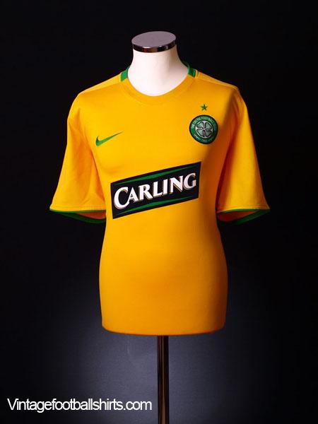 2008-09 Celtic Away Shirt M