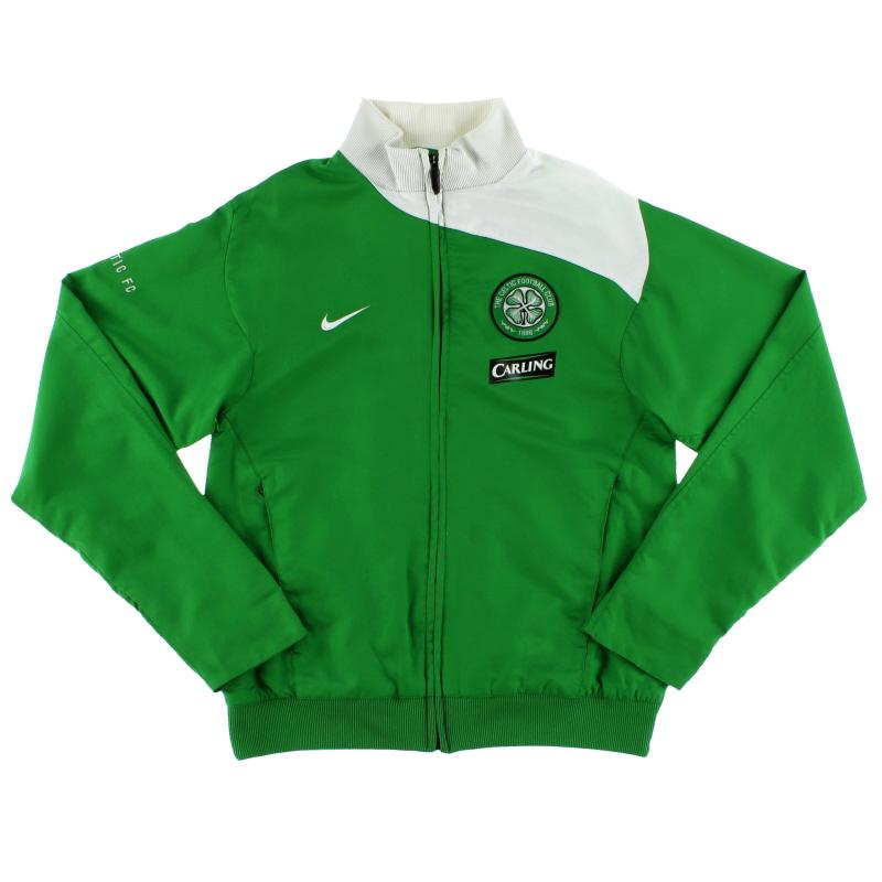 2008-09 Celtic Nike Track Jacket S - 258865-377