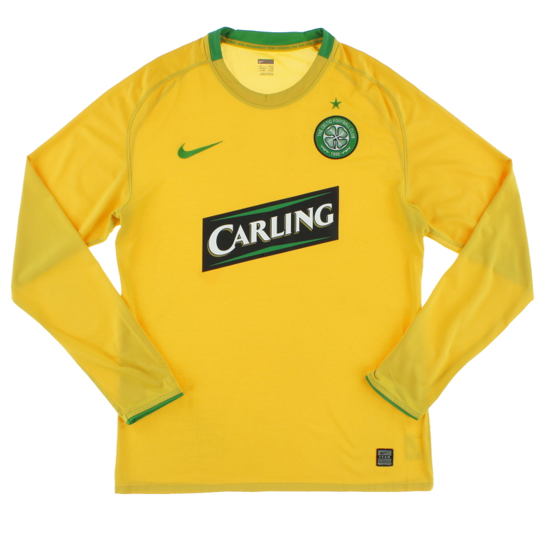 2008-09 Celtic Player Issue Away Shirt L/S XL