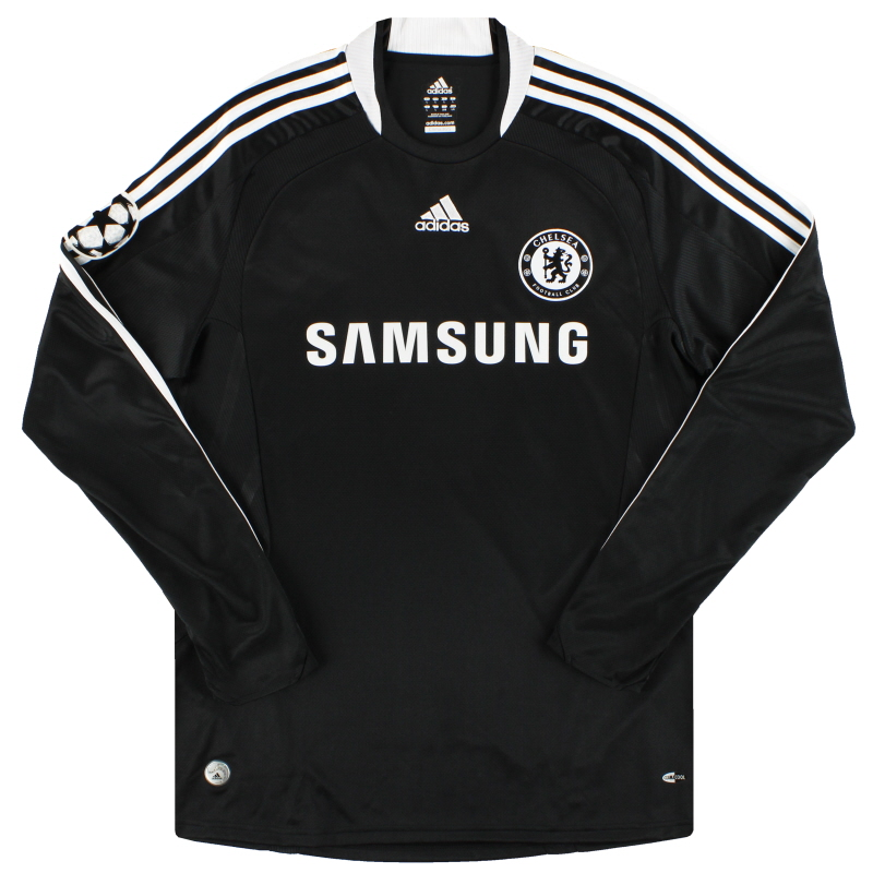 2008-09 Chelsea adidas CL Away Shirt L/S *As New* L - 368055