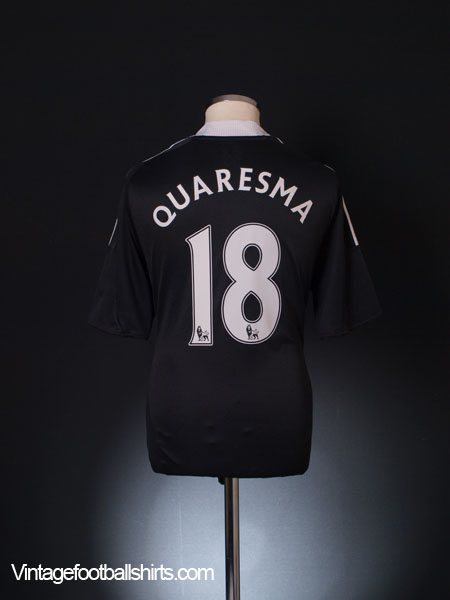2008-09 Chelsea Away Shirt Quaresma #18 L