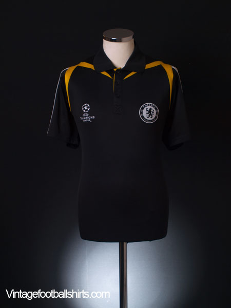 2008-09 Chelsea Champions League Polo Shirt L