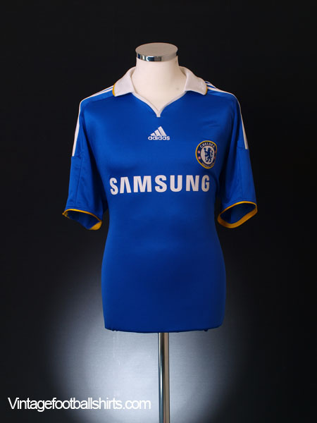 classic fit 5f3ec 510e0 2008-09 Chelsea Home Shirt L for sale