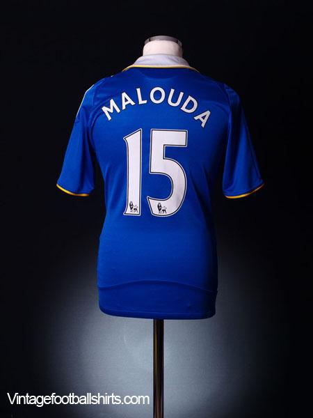 2008-09 Chelsea Home Shirt Malouda #15 S