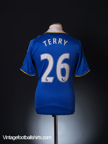 2008-09 Chelsea Home Shirt Terry #26 S